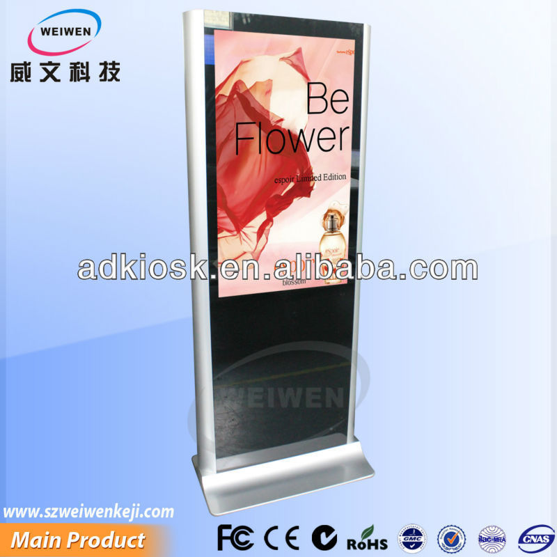 Wonderful ! 46 inch floor standing LCD auto play player
