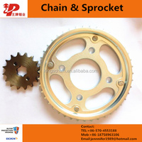 high precision small link chain wheel sprocket