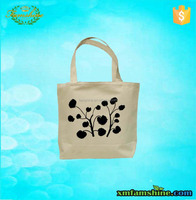 eco cotton canvas shopping promotional tote shopping bag