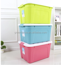 Customized Colorful cosmetic plastic makeup storage boxes&bins