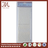 504 pcs White Pearl Stickers for Wedding Decoration DIY Iphone Card making Photo Frames