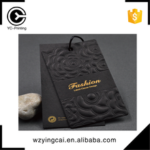 Catalog recommend china top manufacturer cotton paper recyclable hang tags