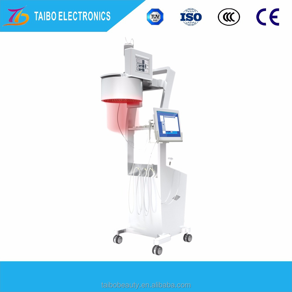 Big promotion laser hair regrowth machine / laser hair loss treatment permanently
