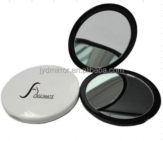 10X Portable Makeup Cosmetic Compact Mirror Purse Handbag Mirror / 10cm dual sided makeup mirror