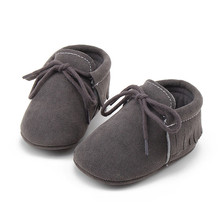 Fashion popular Wholesale men and women baby shoes Soft bottom tassel toddler shoes by baby shoes