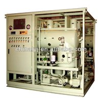 Two Stage vacuum pump Oil filtration machine