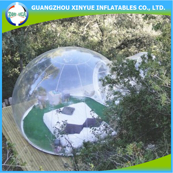 Hot sale inflatable pvc clear igloo inflatable sunshade beach tent