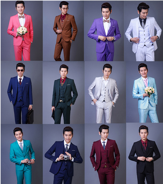 Plus Size Clothing Blue Coat Pant Designs Men Three Piece Suits For Wedding Wear