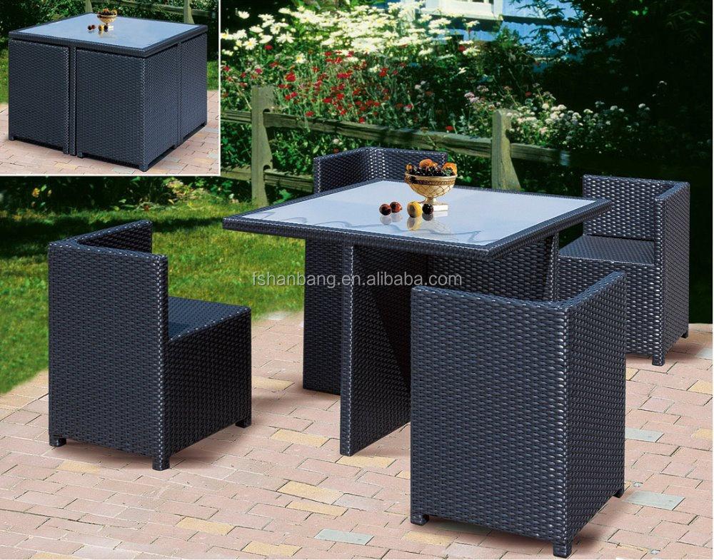 outdoor wicker patio rattan cube garden set buy cube set table