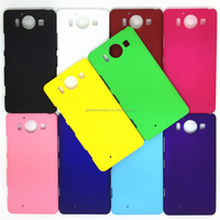 Colorful Rubber Oil Matte Hard Cover Case For Microsoft Lumia 950