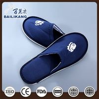 Hotel Airline Slippers with Logo for Travel Guest Amenities