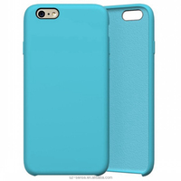Hot blue color Original custom mobile silicone phone case
