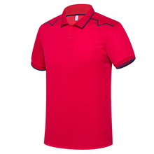 Wholesale men dry fit customer Sport Polo shirt