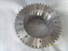 China suppliers metal spur gear in ISO9001:2008