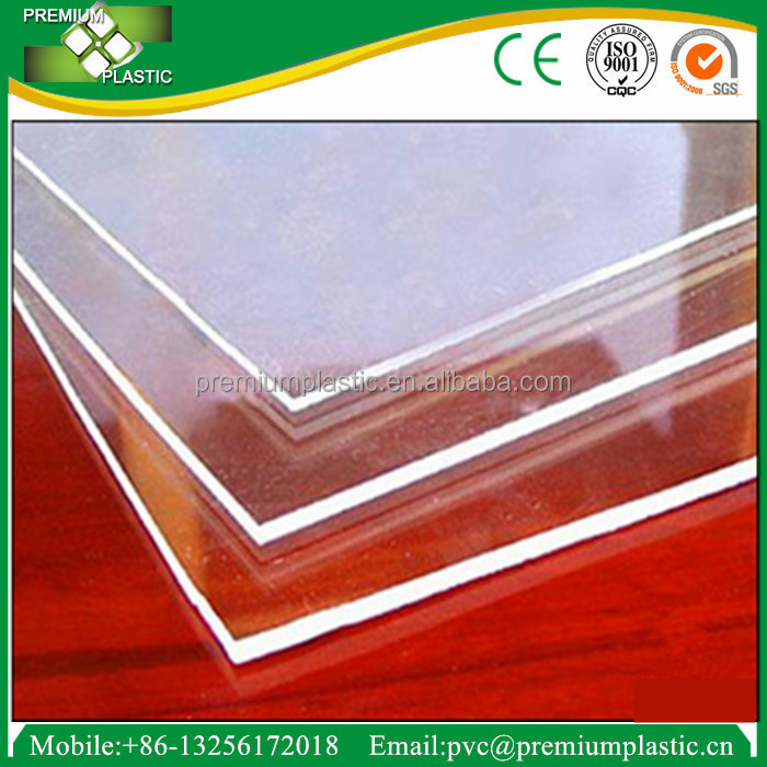 Premium Plastic clear and transparent high quality decorative acrylic sheet for wall panel