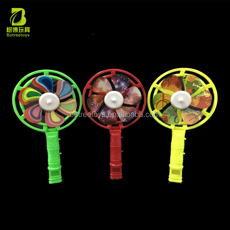 Alibaba Wholesale Big Windmill Whistle Plastic Toys