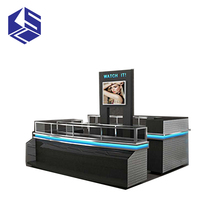 Good quality mobile store cell phone accessories display mall kiosk design