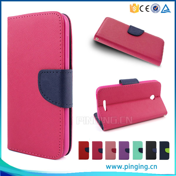Factory price New arrival Mixed colors pu leather flip cover case for Huawei honor Pad 2