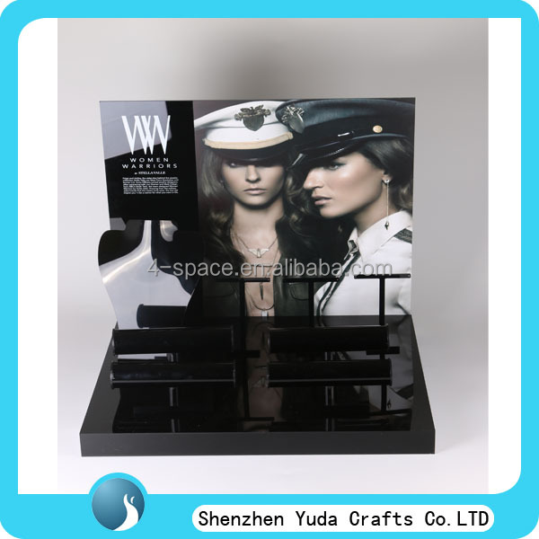 Fashionable jewelry display stand acrylic display stand for jewelry