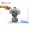 JKTLEB128 automated ss dn50 grinding machine ball valve