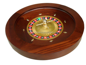 50cm Deluxe wood Roulette Wheel Solid mahogany wood wheel