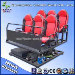 3D theater system 4D 5D 6D ride cinema film movie supplier