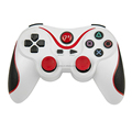 Wireless V3.0 Controller for PS3 -RED+WHITE