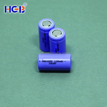 Deep cycle cylinder battery cell HGB18350 1100mAh 3.7V lithium polymer battery cell rechargeable battery cell for E-cigarette