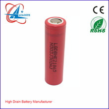 100% authentic Made in Korea power tool 18650 battery cell LGHE2 2500mah 20amp continuous for 260w box mod