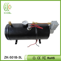 high quality 12V DC train horn air compressor