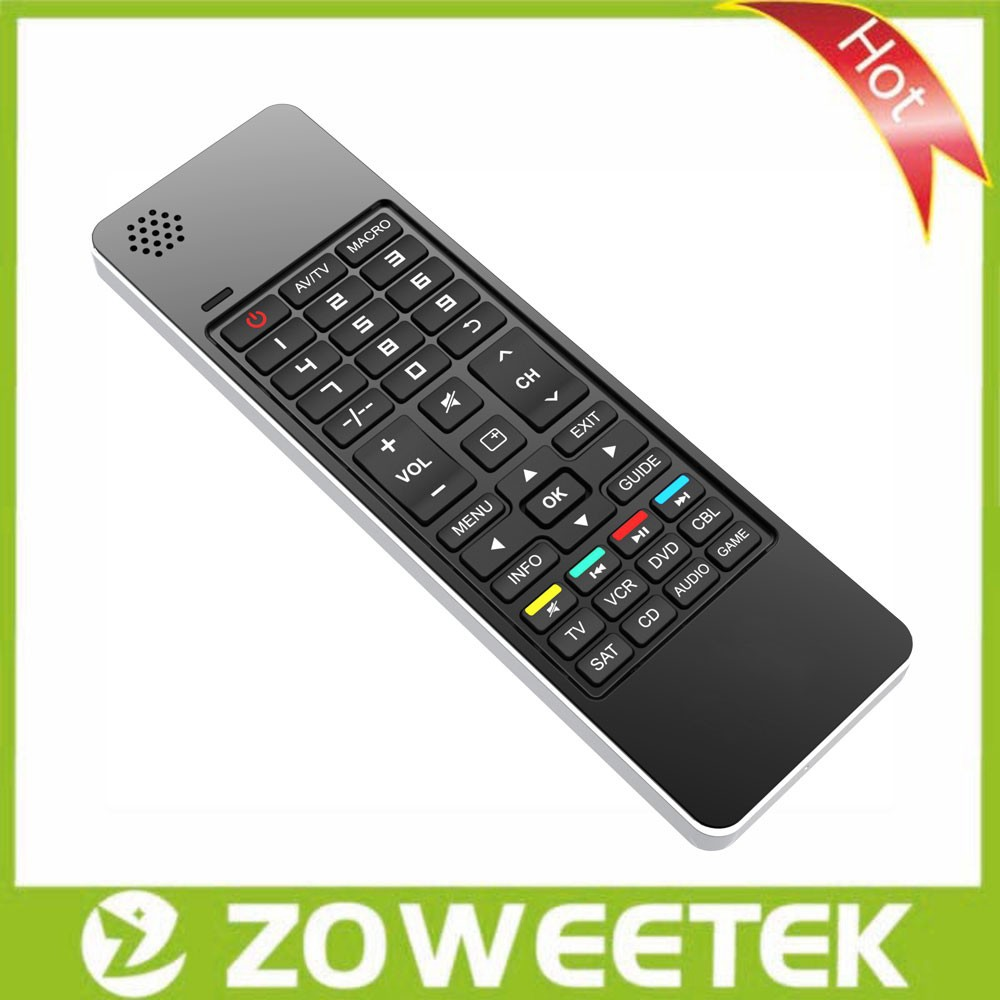 Wireless Mini Keyboard Russian Letters with Speaker and Microphone IR Learning Remote Air Mouse