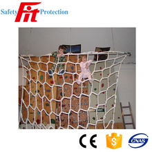 High strength climbing rope net for children