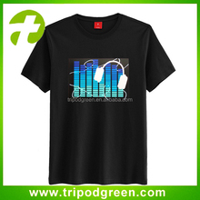 Best programmable led lighting t shirt,China supplier