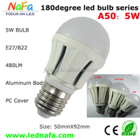 Led Bulb Of 6w/9w high power dome UL cUL CE,40W/60w incandescent light bulbs replacement with 3 year warranty