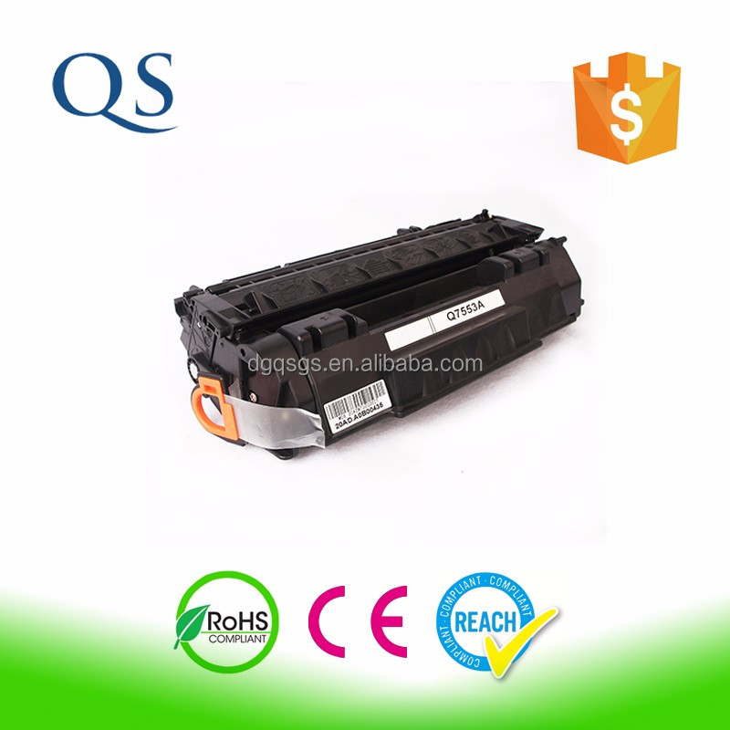 Compatible for HP P2014 P2015 M2727MFP laser toner cartridge Q7553A 7553 53 7553X