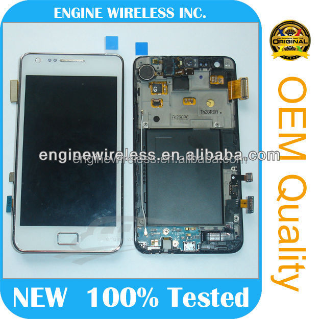 for samsung galaxy s2 i9100 lcd touch screen,fast delivery,new