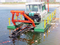 6inch cutter suction dredger boat for sale