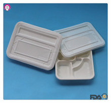 Eco friendly custom recycle biodegradable lunch trays