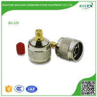 High quality N male to SMA female RF connector adapter for coaxial cable