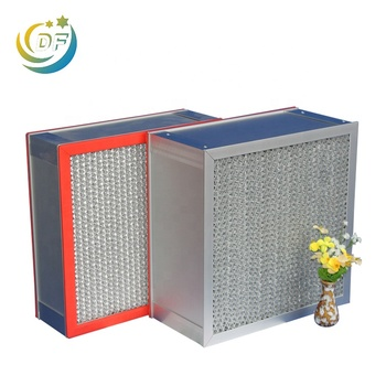 Hot Sale High Capacity Industrial H13 H14 U15 U16 U17 Ulpa Hepa Air Filter Manufacturer
