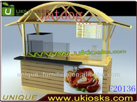 2015 Made in China 8ft*2ft hot dog cart, ice cream cart for sale, pizza kiosk design