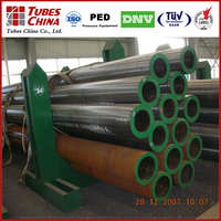 hot rolled seamless large diameter steel pipe size