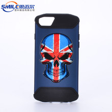 High quality sublimation mobile phone case for iphone 8 making foctory,hybrid material mobile phone case for iphone 8