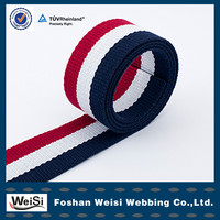 High Quality Custom Wholesale Woven Cotton Webbing Tape For Belt