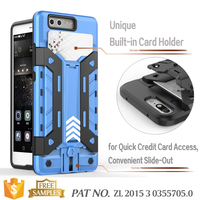 Hybrid Rugged Rubber Hard Shockproof Case Cover For Huawei P9