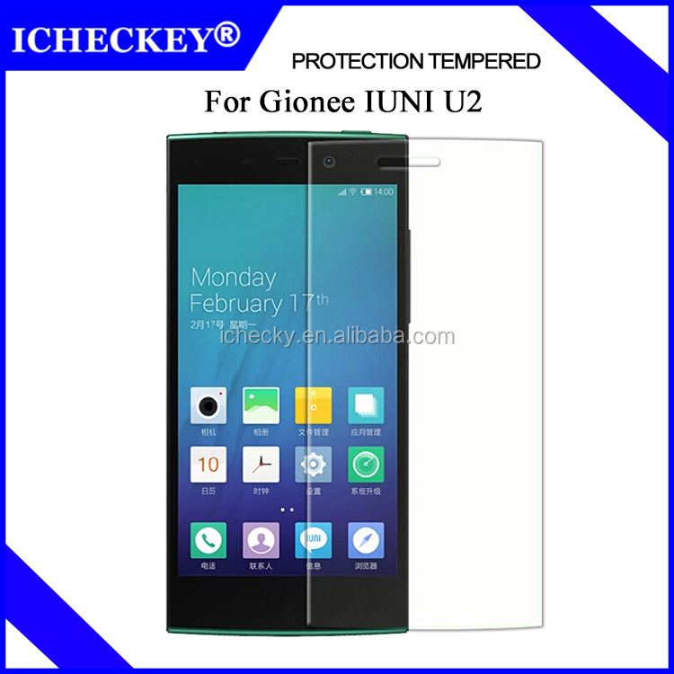 9H HD Clear Gionee IUNI <strong>U2</strong> Temmpered Glass Screen Protector Screen Protector