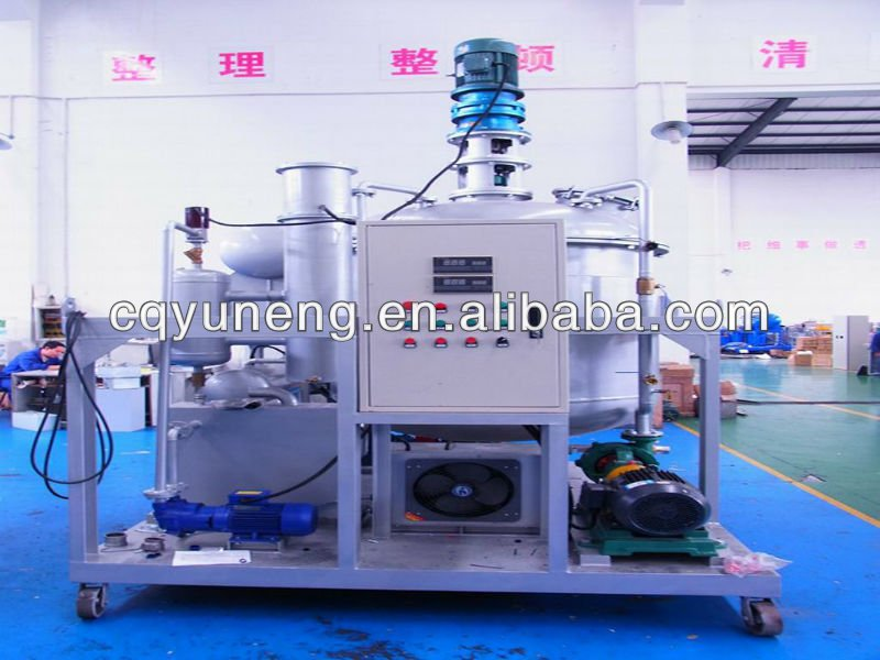 Used Lubricant oil filtration,oil recycling,oil regeneration