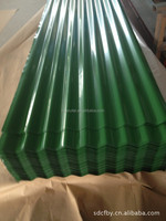 color coated corrugated metal house roofing sheet DX51D/ASTMA653