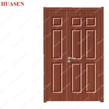 Wood single design exterior jamb paint color door