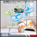2.4G 4CH Colorful UFO Rc Quadcopter Drone with LED Light